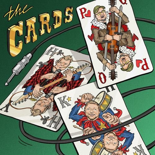 The Cards feat. Saxon's Paul Quinn - The Cards (2019)