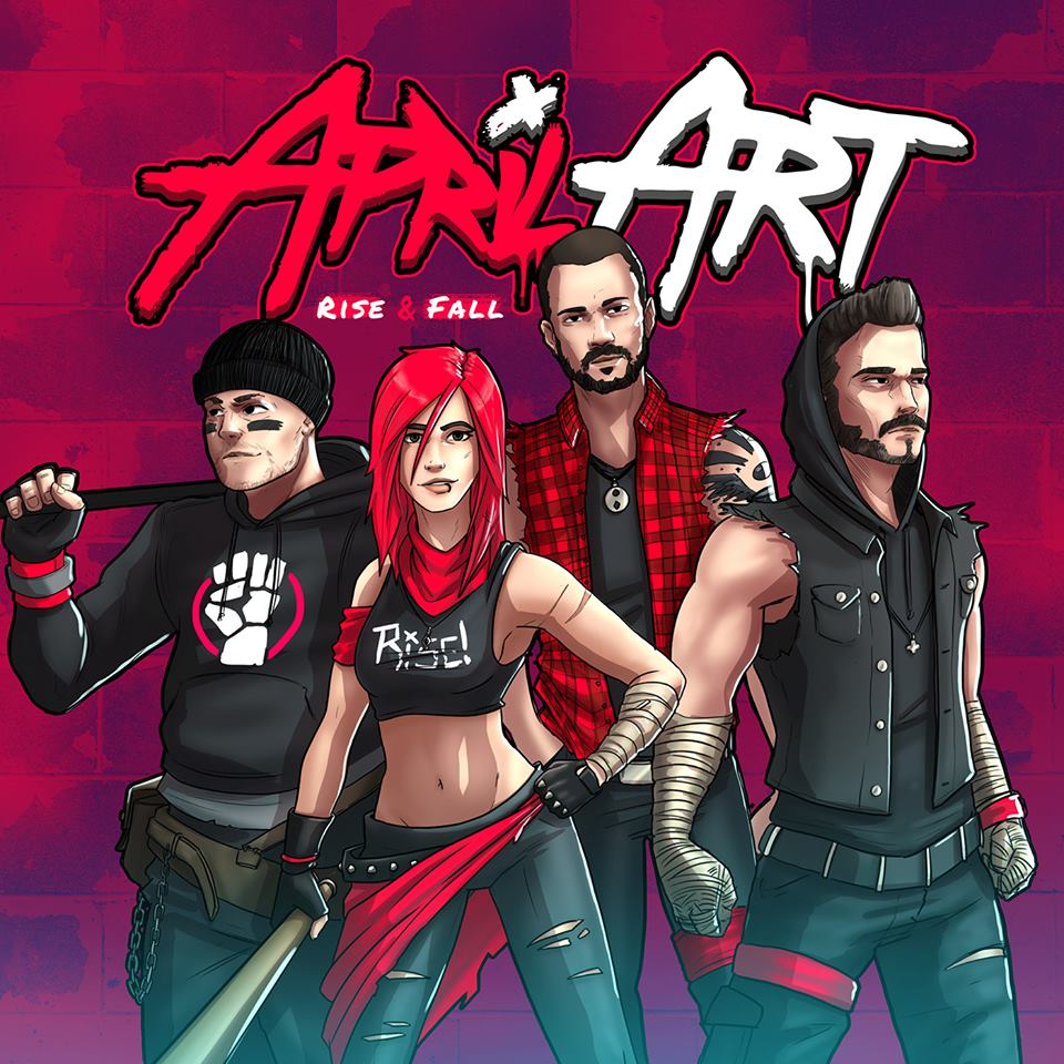 April Art - Rise & Fall (2019)